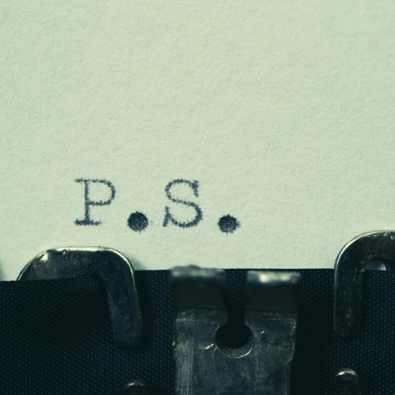 Email Marketing and the PS